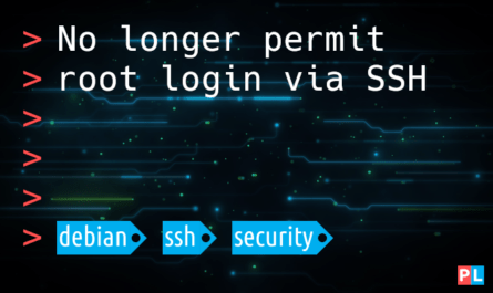 Feature image for the article no longer permit root login via SSH