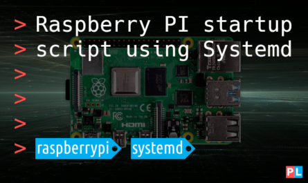 Feature image for the article titled Raspberry PI startup script using Systemd