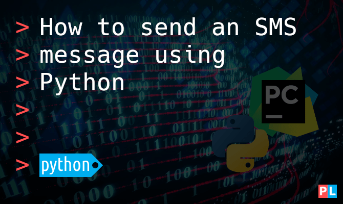 How to send an SMS message using Python