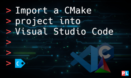 Feature image for the article about how to import a CMake project into Visual Studio Code