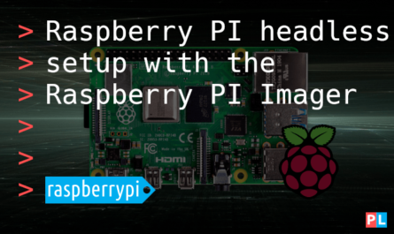 Feature image for the article about performing a Raspberry PI headless setup with the Raspberry PI Imager